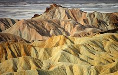 Furnace Creek Lake deposits, Death Valley by sjb5