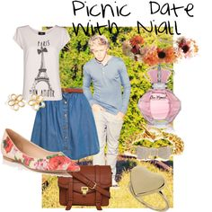 """""""Picnic Date with Niall"""" by Jackie Cole for @Trang Bui Bui Bui Van"""