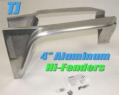 "Genright 4"" Aluminum Hi-Fenders"