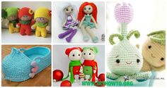 A Collection of Crochet Doll Toys Free Patterns: Crochet Dolls, Crochet Toys for Girls, Amigurumi Dolls Free Patterns, Crochet Doll Carrier