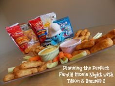 #ad Looking for the perfect ingredients for a fun family movie night?  Tyson Batter Dipped Tenders and Smurfs 2 are the perfect pair! #TastyTenders #cbias