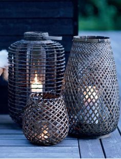 Interior vitamins by House Doctor: Lanterns with Femina.dk : Interior vitamins by House Doctor: Lanterns with Femina. Outdoor Light Fixtures, Outdoor Lighting, Outdoor Decor, Lighting Ideas, Outdoor Lantern, Outdoor Candles, Exterior Lighting, Deco Nature, Candle Lanterns
