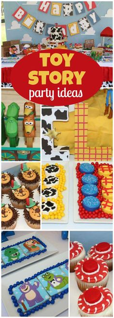 Wow, what a cool Toy Story birthday party! See more party ideas at CatchMyParty.com!