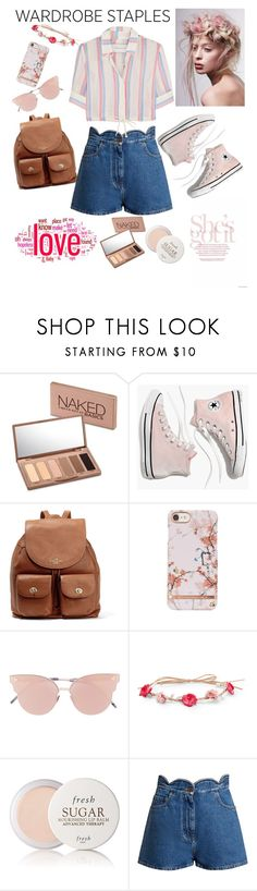 """""""Classics"""" by musicajla ❤ liked on Polyvore featuring Urban Decay, Madewell, Coach, So.Ya, Aéropostale, Fresh, Valentino, Solid & Striped and WardrobeStaples"""