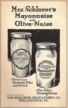 The first brand of commercial jarred mayonnaise.