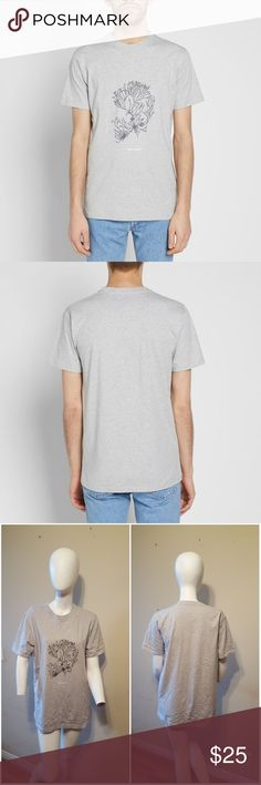 b0c1d91e7ca Norse Projects Niels Plant Logo Tee Sz L Norse Projects Niels Plant Logo  Tee Shirt -