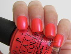 OPI Down to the Core-al - Neons Summer 2014