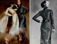 1970 dress ''Dorio'' by Christian Dior
