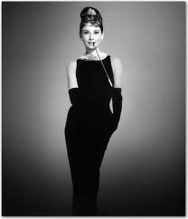 Every woman should own a classic Audry Hepburn style black dress that is timeless and never goes out of style