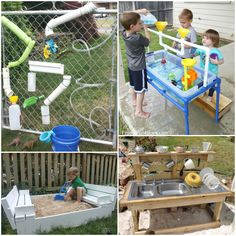Outdoor Collage 2 - Frugal Fun For Boys and Girls