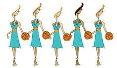 Orange-Bridesmaid-Dresses_OrangeAccents