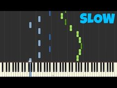 Chopin - Spring Waltz [SLOW Piano Tutorial] [50% speed] (Synthesia/Sheet Music) - YouTube Piano Tutorial, Sheet Music, Musicals, Songs, Learning, Cool Stuff, Spring, Youtube, Guitars