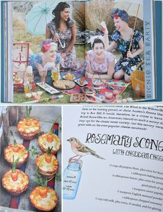 A picnic to remember... The Vintage Tea Party Year by Angel Adoree