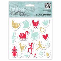 Papermania Urban Stamp Christmas Icons