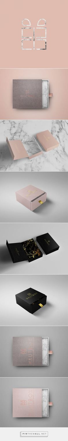 Hautbox by Yeal Saferstein, Miami, Florida on Behance curated by Packaging Diva PD. Hautbox is a luxury curated gift box that comes in 12 variations, making gifting for any occasion as simple as a click of a button.: