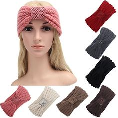 Wide Ear Hair Band HP95TM Women Keep Warm Hairband Knitting Headband Pink >>> You can find more details by visiting the image link.(This is an Amazon affiliate link and I receive a commission for the sales)