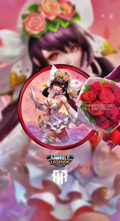 Wallpaper phone layla cannon and roses by fachrifhr mobile legend wallpaper, mobile legends, video Mobile Legend Wallpaper, Hero Wallpaper, Rose Wallpaper, Mobiles, Miya Mobile Legends, Moba Legends, The Legend Of Heroes, Hanabi, Cute Disney