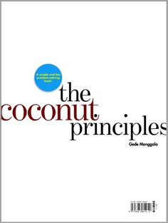another book cover option for the upcoming book the coconut principles