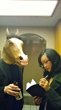 A real life Bojack and Diane