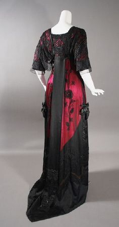 Evening gown | Contentment Farms | 1912