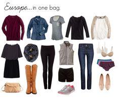 Three Weeks in One Bag