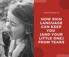 """Standing in the store with a screaming, hungry, fussy baby is no fun.Now add a screaming, fussy, """"pay attention to me!"""" toddler to the mix. Sign Language Basics, Baby Sign Language, Pay Attention To Me, Stress, Ads, Signs, Shop Signs, Psychological Stress, Sign"""