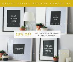 Artist Series Mockup Bundle #1 by Tina Crespo on Creative Market
