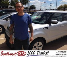 https://flic.kr/p/yt5rzk | Congratulations Brian on your #Kia #Soul from Jerry Tonubbee at Southwest Kia Mesquite! | deliverymaxx.com/DealerReviews.aspx?DealerCode=VNDX