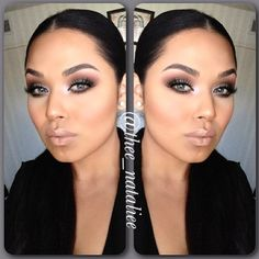 #ShareIG @thee_nataliee looking absolutely stunning!  she's wearing @urbandecaycosmetics naked 2 palette. Go check her out for further details on this look @thee_nataliee