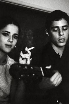 Marieta Severo e Chico Buarque - 1960