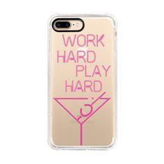 Phone Case, Tough Edge, Work Hard Play Hard
