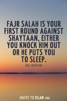 Fajr sleep