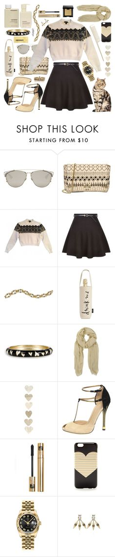 """It's Thursday"" by cjfdesign ❤ liked on Polyvore featuring Christian Dior, RED Valentino, Louis Vuitton, Chloe + Isabel, Kate Spade, Murphy, Betsey Johnson, AllSaints, Gucci and Yves Saint Laurent"