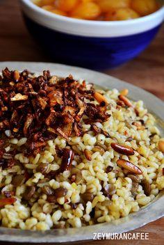 Yeşil Mercimekli Bulgur Pilavı Müceddere - Zeymuran Cafee Yemek Tarifleri Turkish Recipes, Ethnic Recipes, Homemade Beauty Products, Food Blogs, Risotto, Food And Drink, Health Fitness, Rice, Vegetarian