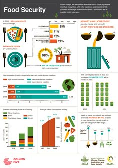 Scary Facts About Food Security & Climate Change + Infographics - Kollu Good Healthy Recipes, Vegan Recipes Easy, Real Food Recipes, Healthy Facts, Vegetarian Recipes, Scary Facts, Food Technology, World Hunger, Food Insecurity