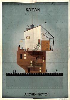 Kazan | Archidirector, la ciudad de Federico Babina inspirada en directores de cine | nUvegante