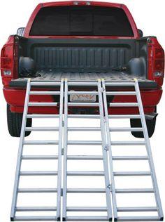Equipment Loading Ramps. ATV Heavy Duty Steel & Aluminum Ramp - - Aluminum ATV Ramps, ATV Truck Ramp, Tri Fold ATV Ramps.