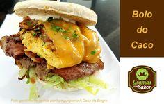 Um alimento cada vez mais apreciado!!! Aprenda a fazer BOLO DO CACO :)  http://www.gramascomsabor.com/como-se-faz-o-bolo-do-caco/  #receitas #gramascomsabor #bolodocaco #hamgurgueria #hamburguer