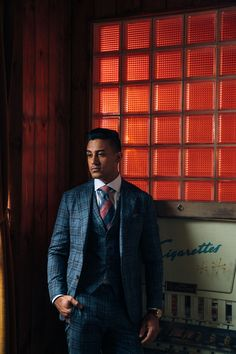 We offer the finest men's custom-tailored suits, dress shirts, and bespoke clothing in Chicago and San Francisco. Fashion Suits, Mens Fashion, Blind Barber, Custom Tailored Suits, Bespoke Clothing, Bespoke Suit, 3 Piece Suits, Fine Men, Mens Suits