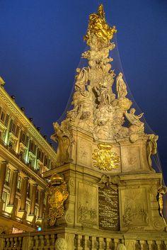 Plague Column - Vienna, Austria