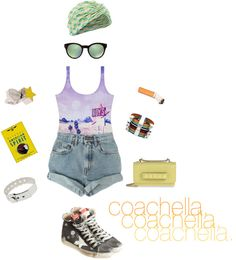 """coachella."" by sarah-k-king on Polyvore"