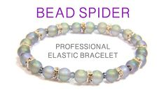A no glue, professional and easy technique to make a beaded elastic bracelet. Using fine beading elastic doubled for strength, to easily make the perfect elastic bracelet. No glue necessary. Beaded Spiders, Do It Yourself Jewelry, Beaded Bracelets Tutorial, Macrame Tutorial, Diy Jewelry Tutorials, Stretch Bracelets, Beaded Jewelry, Opal Jewelry, Gold Jewelry