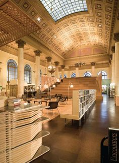 Fleet Library, RISD, Rhode Island #FLVS #campus #RISD