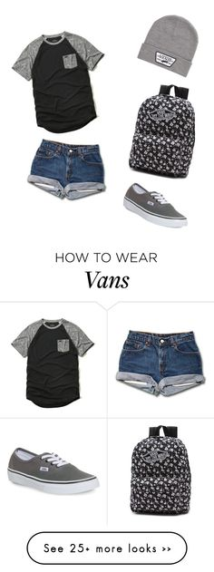 """Untitled #59"" by natalija14 on Polyvore featuring mode, Hollister Co. en Vans"