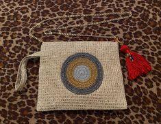 Crossbody Clutch, Straw Bag, Bags, Accessories, Design, Fashion, Handbags, Moda, Fashion Styles