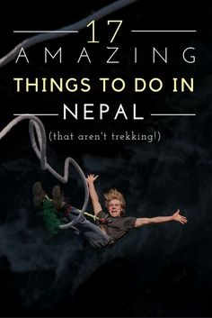 My round up of the best things to do in Nepal – that AREN'T trekking! From extreme sports to awesome food, this is everything you need to do   #nepal