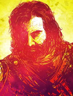 The Hound - Game of Thrones - acevesdesigns