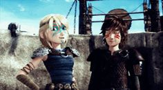 hiccup and astrid | Tumblr