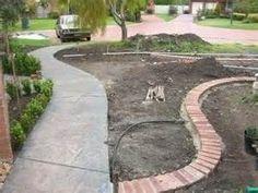 Thread: Brick garden edging | Garden paths and walks | Pinterest