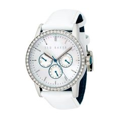 Ted Baker TE2021 Ladies white leather strap watch has been published to http://www.discounted-quality-watches.com/2012/05/ted-baker-te2021-ladies-white-leather-strap-watch/
